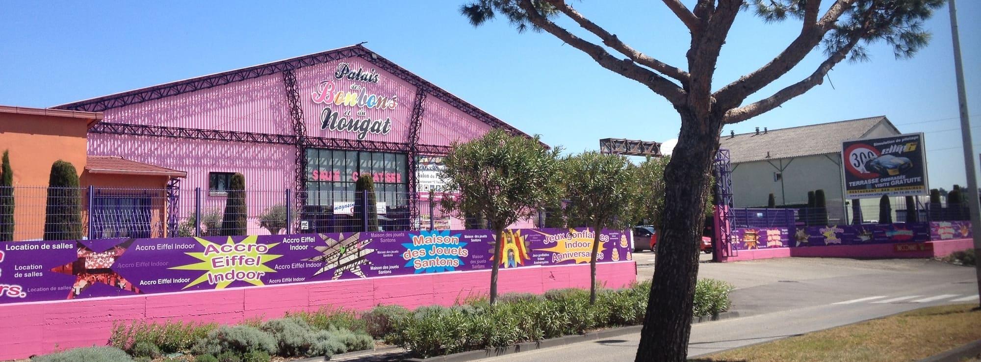 Palais des bonbons et du nougat à Montélimar